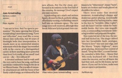 Financial Times Barbican Review